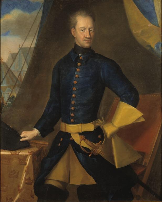 Johan David Swartz: Karl XII. NMGrh 4297
